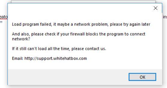 PVACreator error: Load program failed